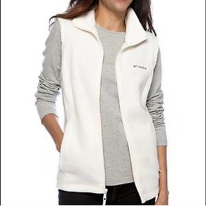 Columbia Sleeveless Zip Up Fleece Vest 1451CH4